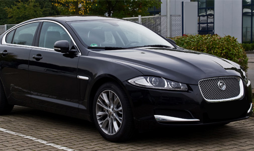 Jaguar XF Car Rental